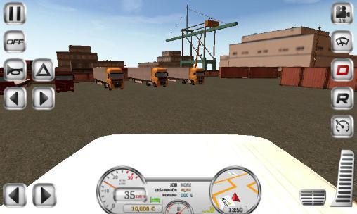 Euro truck driver captura de pantalla 1