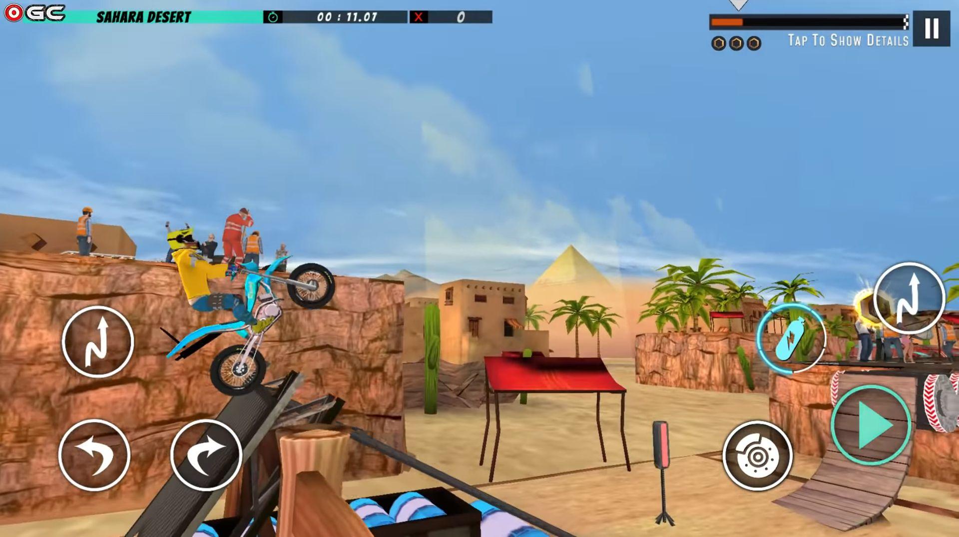 Велосипед   трюк 3d гоночный бесплатная игра для Android
