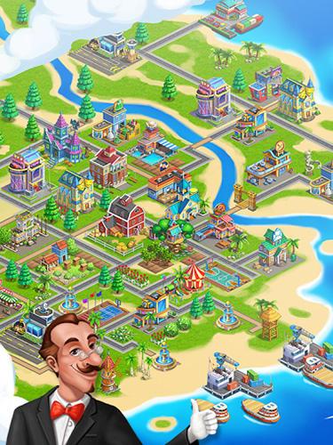 Strategiespiele Wonderful island für das Smartphone