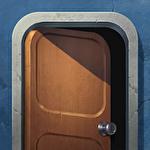 Doors and rooms: Escape games Symbol