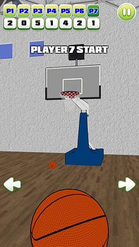 Basketball party shot: Multiplayer sports arcade für Android