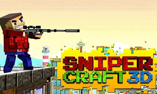 Sniper craft 3D ícone
