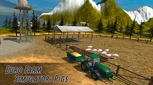 Euro farm simulator: Pigs Screenshot
