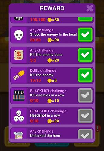 Arcade-Spiele Gun hero 2 für das Smartphone