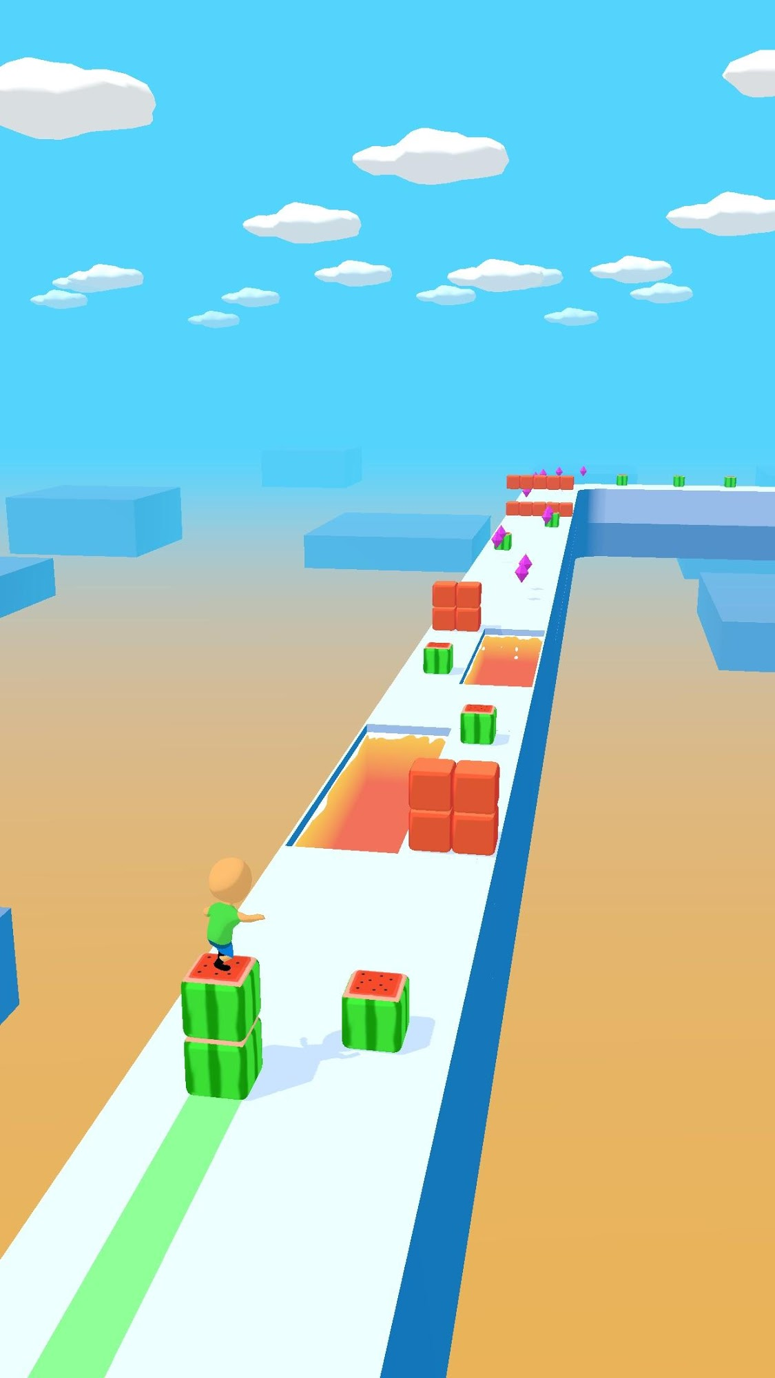 Cube Surfer! для Android