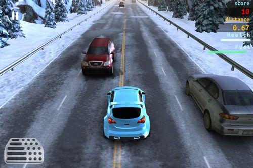 X Racer: Verkehrsdrift für iPhone