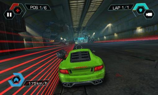 Cyberline racing capture d'écran 1