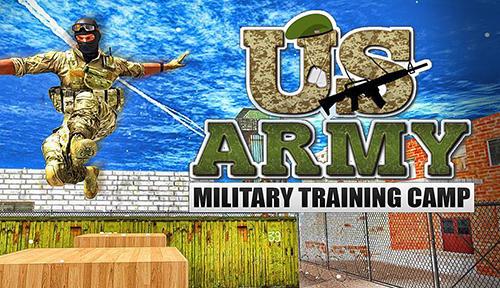 US army: Military training camp Symbol