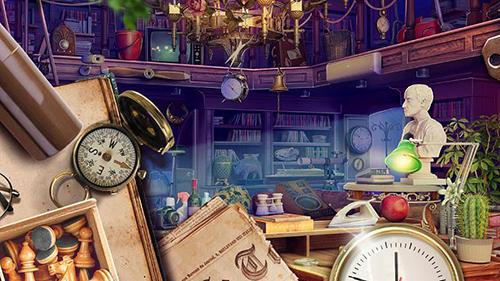 Abenteuer-Spiele Hidden objects: House cleaning für das Smartphone