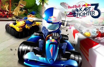логотип Рэл Булл картинг 3 - Непобедимые трассы