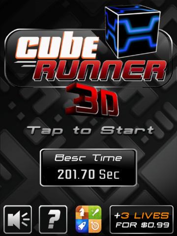 logo Coureur cubique 3D