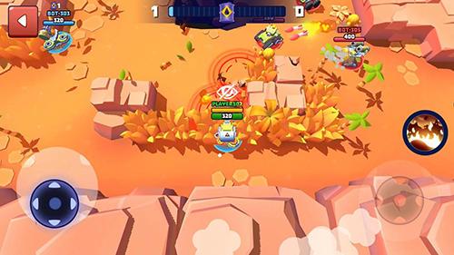 Tanks a lot! Online battlegrounds brawlscapturas de pantalla