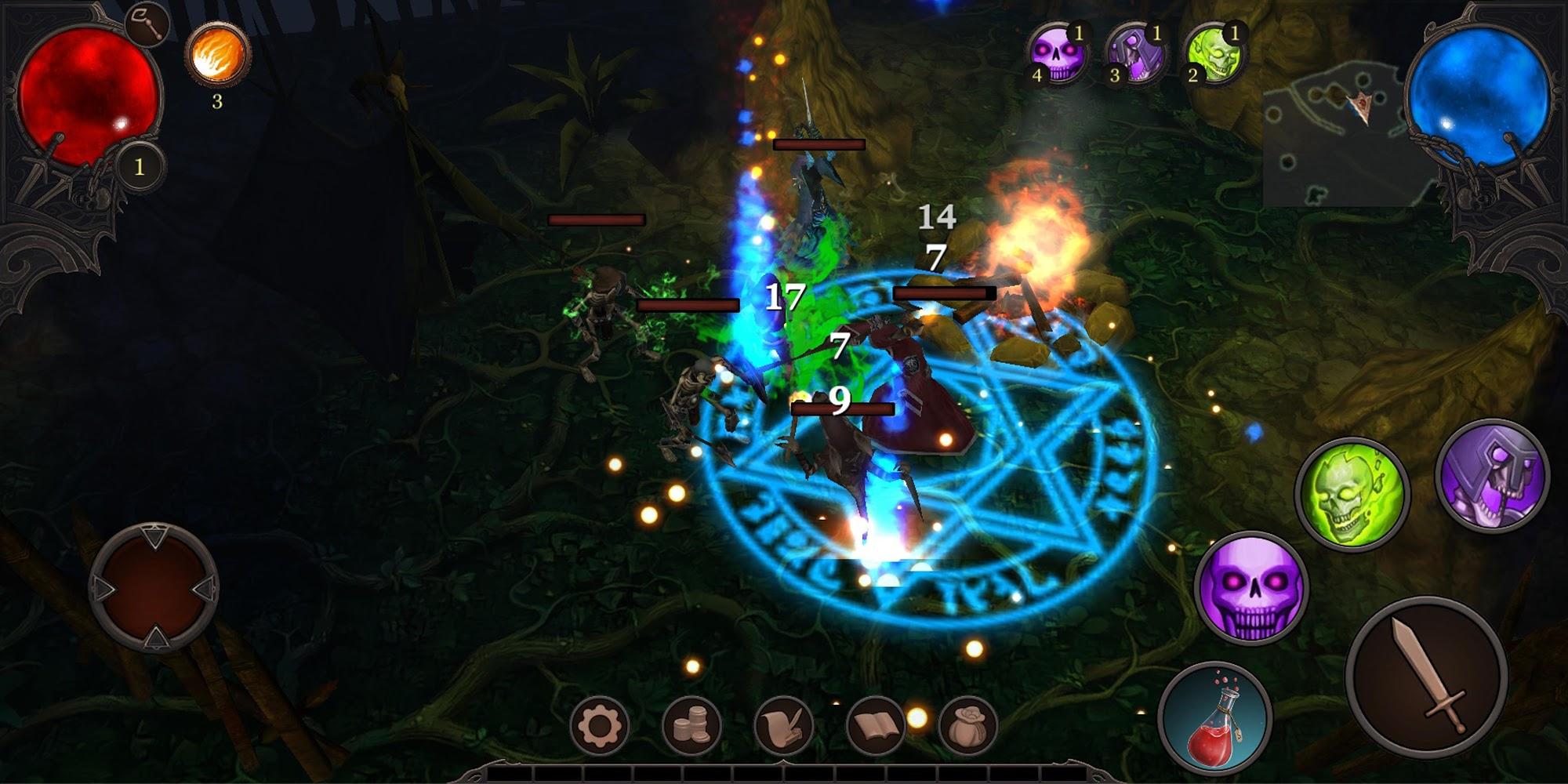 Vengeance captura de pantalla 1