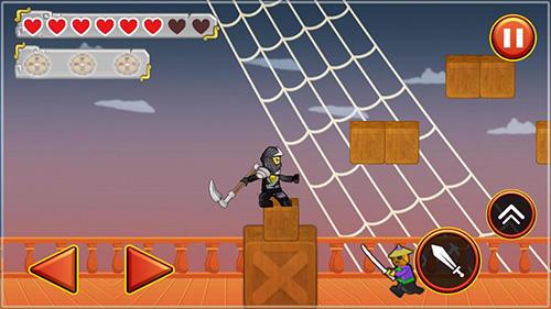 Ninja toy warrior: Legendary ninja fight für Android