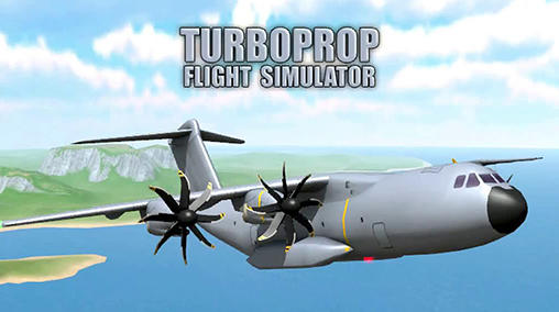 Turboprop flight simulator 3D скриншот 1