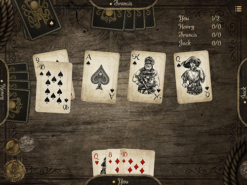 Kings and pirates: Premium card games Screenshot