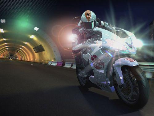 Screenshot Rennlinie CC: Rasante Motorradrennen auf dem iPhone