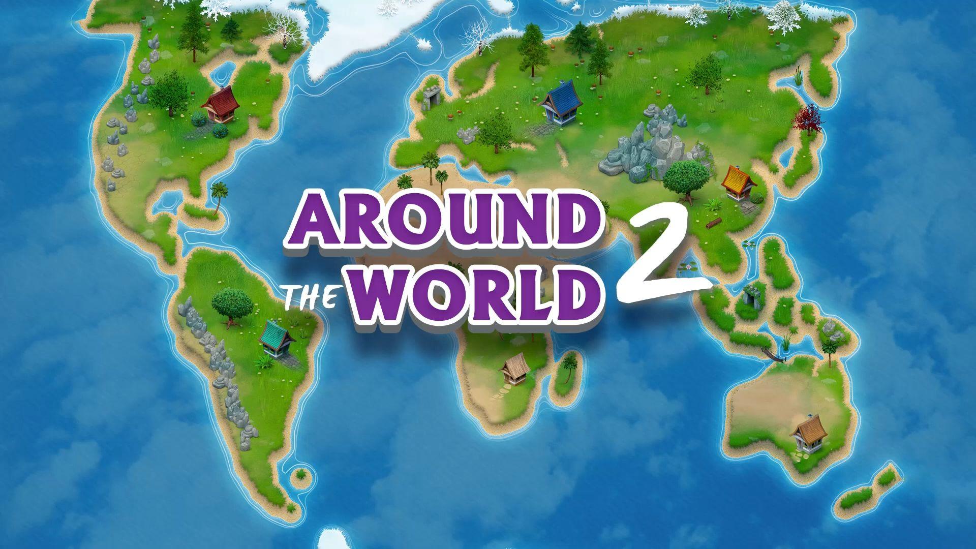 Around the world 2: Hidden Objects captura de pantalla 1