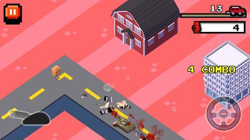 Arcade Crush road: Road fighter für das Smartphone