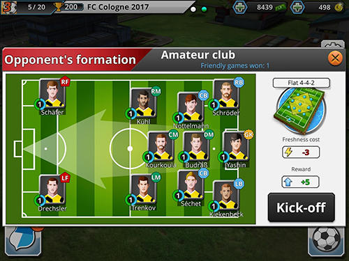 Football empire für Android