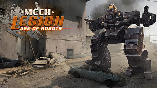Mech legion: Age of robots captura de pantalla 1