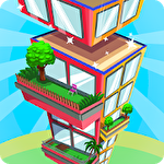 Tower builder: Build it Symbol