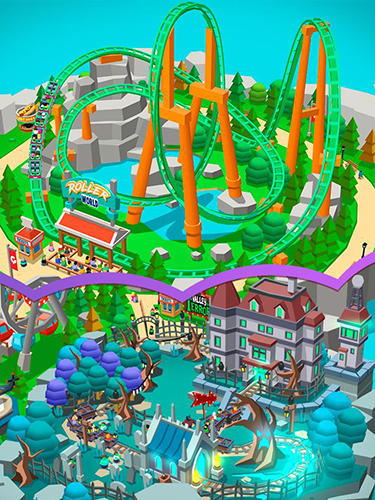 Аркады: скачать Idle theme park tycoon: Recreation game на телефон