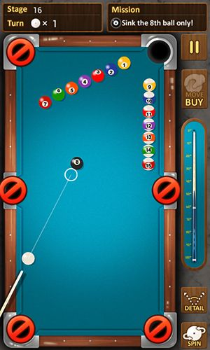 The king of pool billiards для Android