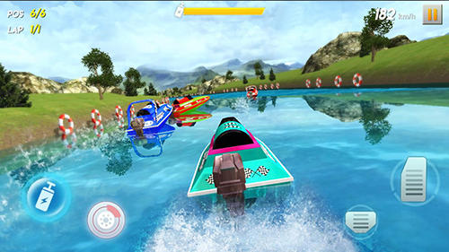 Powerboat race 3D screenshot 1