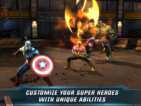 Marvel: Avengers alliance 2 для Айфону