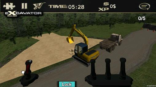 Crazy excavator simulator captura de tela 3