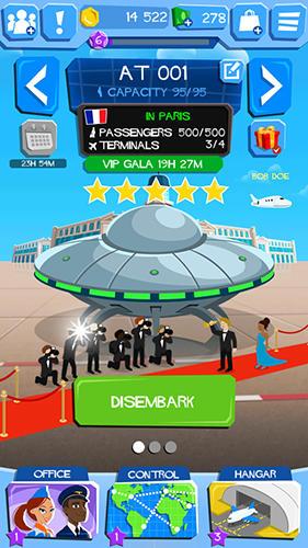 Airline tycoon: Free flight für Android