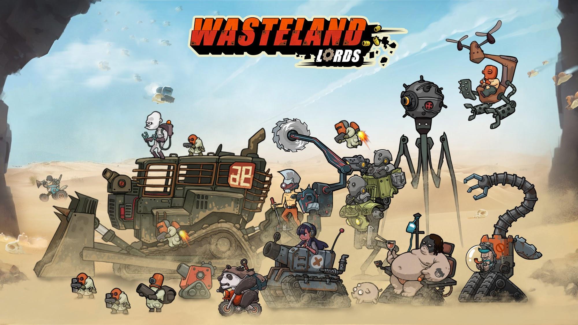 Wasteland Lords capture d'écran 1