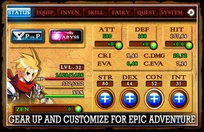 Kampfspiele: Lade Zenonia 4 auf dein Handy herunter