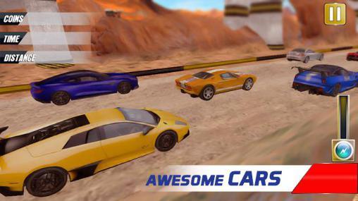 Polizei-Spiele Extreme police car racer auf Deutsch