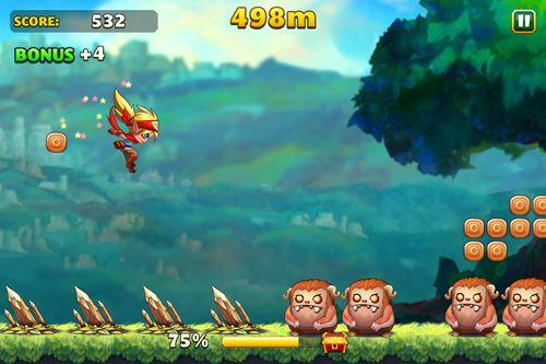 Captura de tela Corrida por tesouro! no iPhone