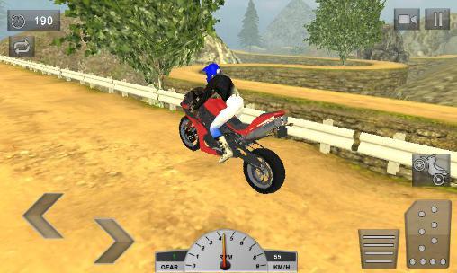 Crazy offroad hill biker 3D auf Deutsch