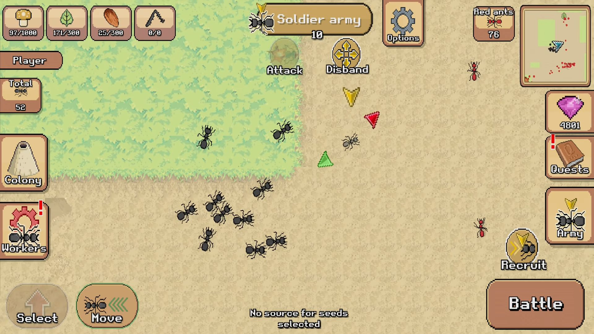 Pocket Ants: Colony Simulator для Android