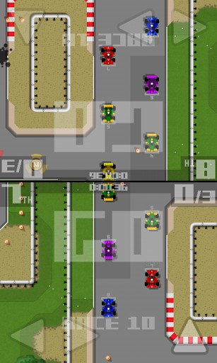 Rennspiele Retro racing: Premium für das Smartphone
