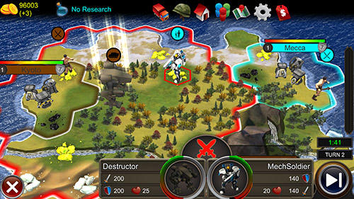 Strategiespiele World of empires 2 für das Smartphone