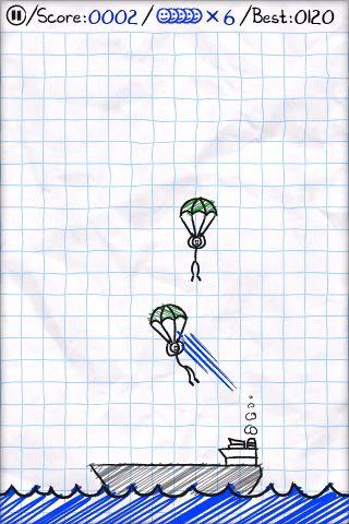 El pánico de paracaídas