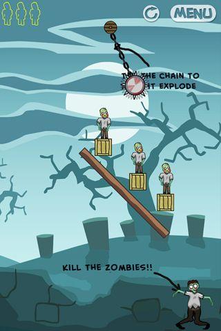 Zombie zone для Айфону