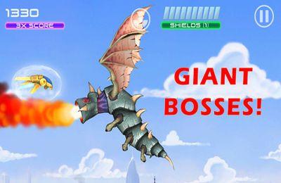 Screenshot JAM: Jets Alien Raketen auf dem iPhone