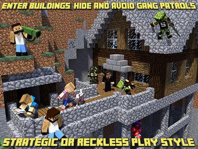 Jogos de ação: faça o download de Clãs de blocos - Mundo de tiroteios de pixéis para o seu telefone