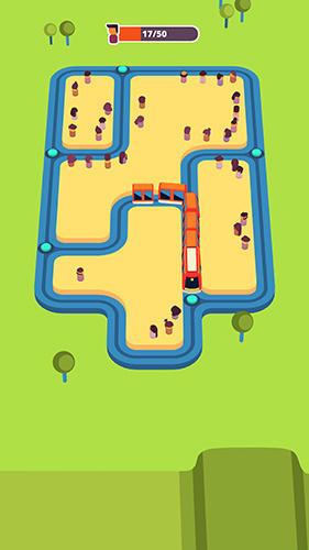 Logikspiele Train taxi für das Smartphone
