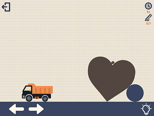 Crayon physics with truck für Android