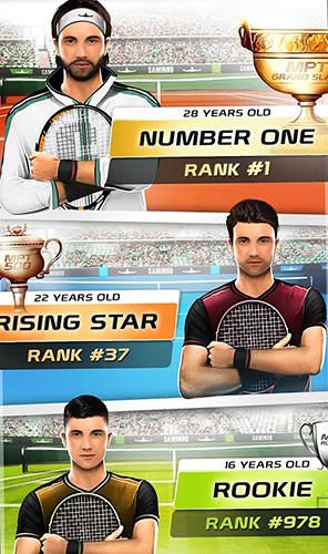 Top seed: Tennis manager in Russian