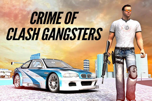 Crime of clash gangsters 3D Symbol