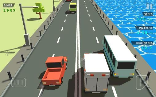 Blocky traffic racer为Android