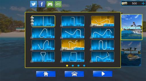 Arcade Extreme power boat racers für das Smartphone